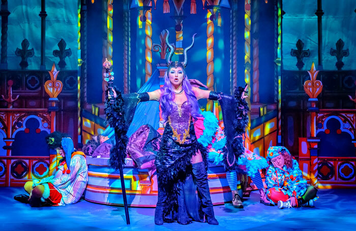 Hayley Russell in Sleeping Beauty at the Lawrence Batley Theatre, Huddersfield. Photo: Robling Photography