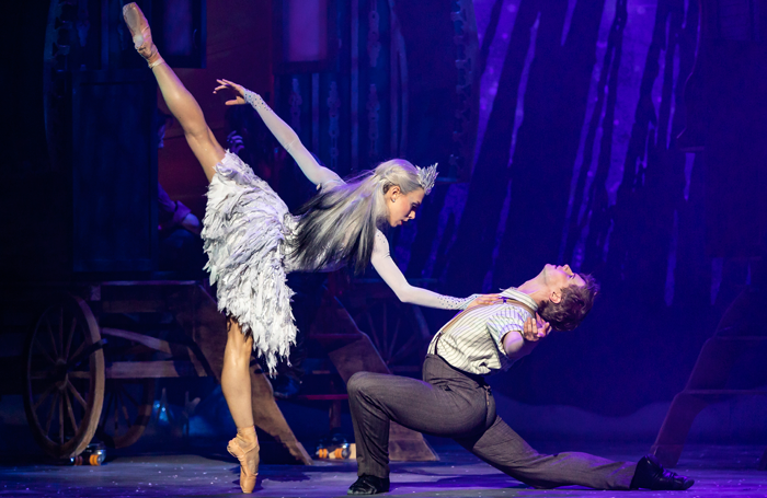 Constance Devernay and Andrew Peasgood in Scottish Ballet's The Snow Queen. Photo: Andy Ross