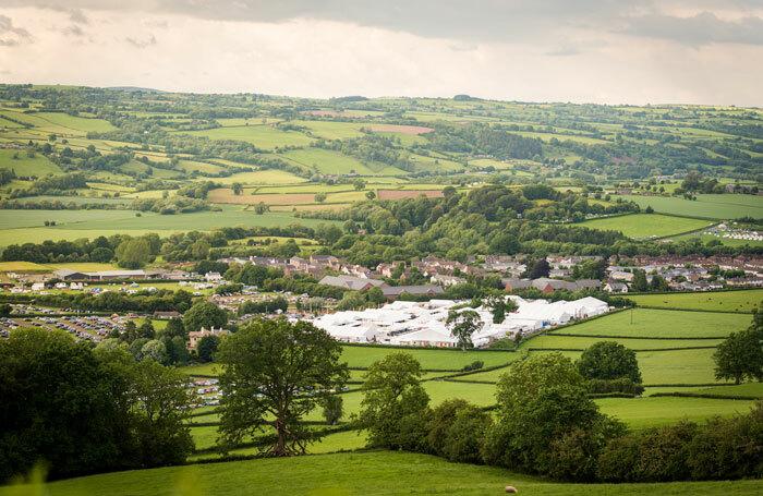 Hay Festival in Wales. Photo: Sam Hardwick