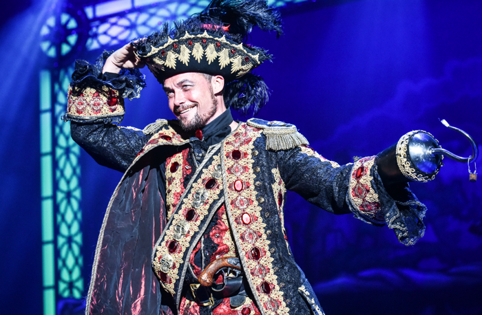 Bill Ward in Peter Pan at Derby Arena