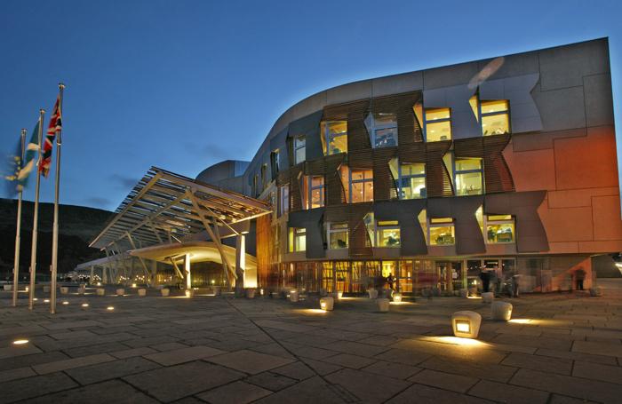 Scottish Parliament. Photo: Andrew Cowan/Scottish Parliament
