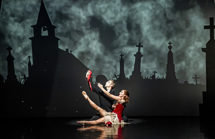 Liam Mower and Ashley Shaw in The Red Shoes at Sadler's Wells, London. Photo: Tristram Kenton