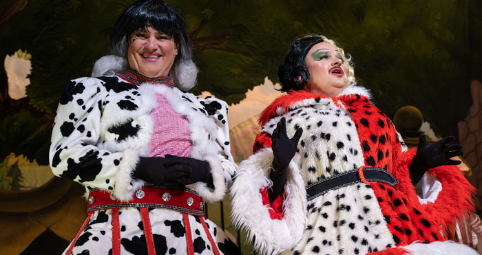 Shaun Hennessy and Scott Haining in Cinderella at Cast Theatre, Doncaster. Photo: Sam Taylor