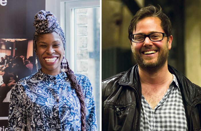 The Stage Awards 2020 nominees include Artistic Directors of the Future (founder Simeilia Hodge-Dallaway pictured left) and Swiss director Milo Rau. Photos: Judith Rita Nanyonga/Thomas Mueller