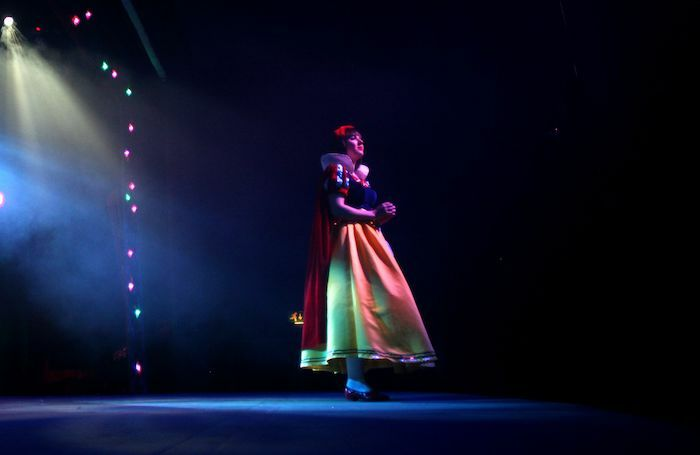 Ella Gilling in Snow White and the Seven Dwarfs at Exeter Corn Exchange.