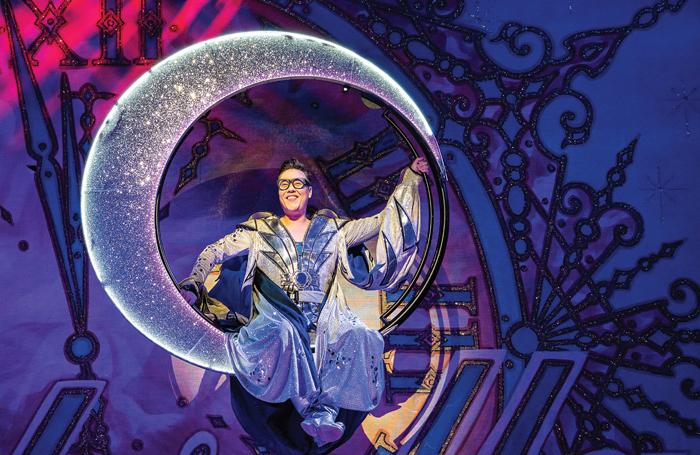 Gok Wan in Cinderella. Photo: Tim Dickeson