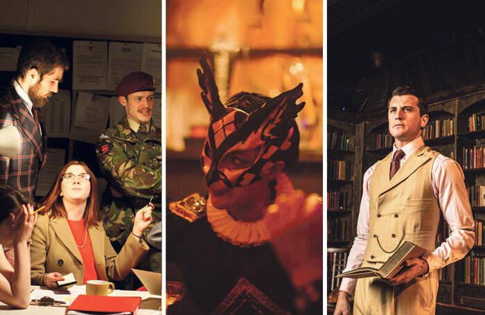 Crisis? What Crisis?; Red Palace; Oliver Towse in The Great Gatsby. Photos: Owen Kingston/Nic Kane/Helen Maybanks