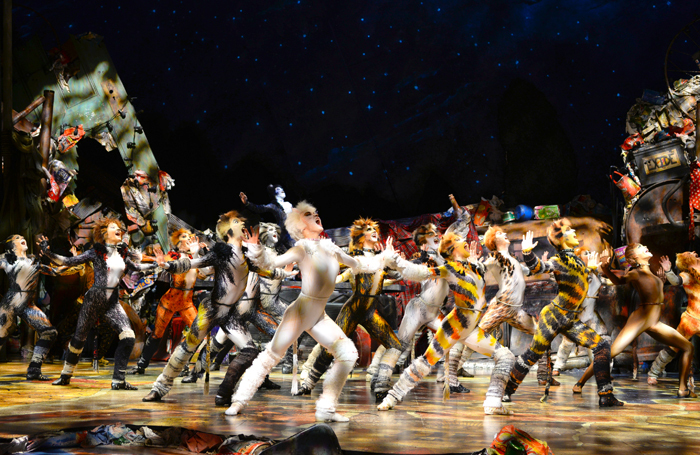The touring production of Cats, which GMG Productions will take to Manila in October