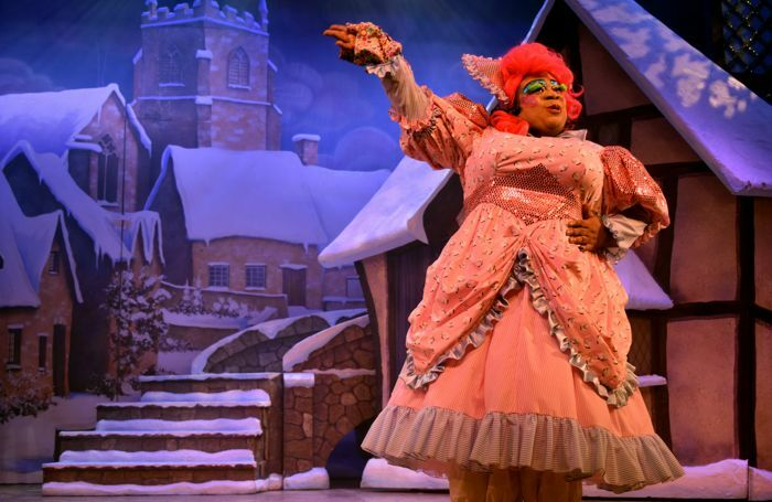 Donovan Christian Cary in Jack and the Beanstalk at Princes Hall Theatre, Aldershot