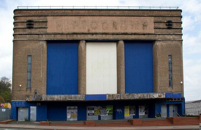 The derelict Dudley Hippodrome. Photo: Wikipedia