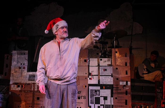Malcolm Shields in Present at Alphabetti Theatre, Newcastle-upon-Tyne
