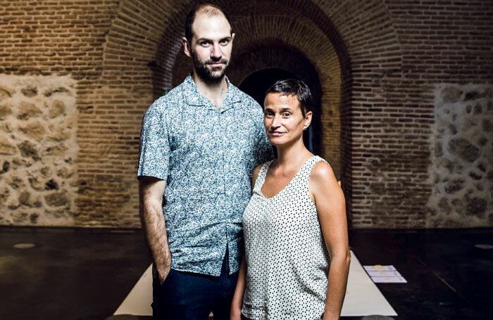 BE Festival's artistic directors, Miguel Oyarzun and Isla Aguilar. Photo: Samuel Sanchez