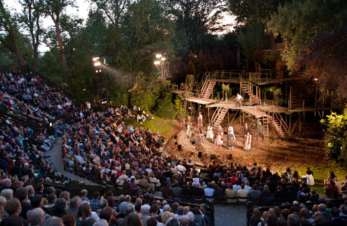 Regent's Park Open Air Theatre is hoping to increase its capacity by 80 seats. Photo: David Jensen