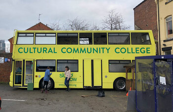 Slung Low's community arts college vandalised leaving £5k of damage