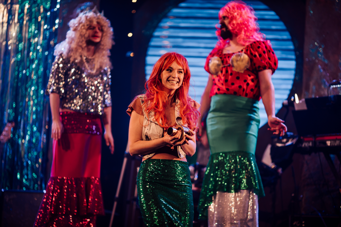 Marc Graham, Alice Beaumont and Andrew Ross in The Little Mermaid. Photo: Sarah Beth.