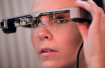 Cinema to pilot smart caption glasses developed by the National Theatre