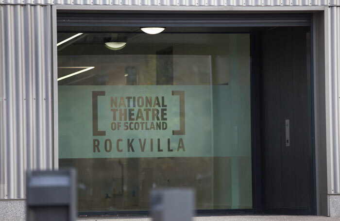 The exterior of the National Theatre of Scotland's Rockvilla building. Photo: Drew Farrell