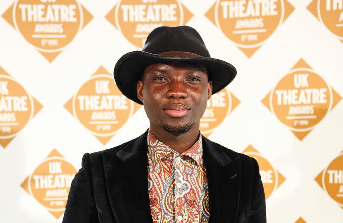 Emmanuel Kojo received a scholarship from the Andrew Lloyd Webber Foundation. Photo: Pamela Raith