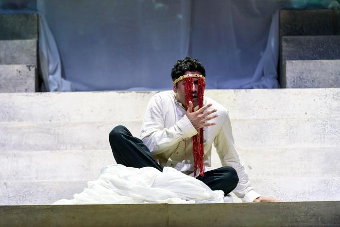 Alor Kumar in Sukanya at Royal Festival Hall, London. Photo: Bill Cooper