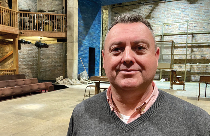 Carl Root at the RSC
