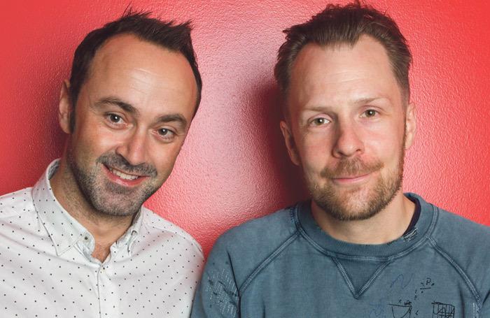 Nikolai Foster and Chris Stafford. Photo: Ellie Kurttz