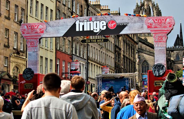 The Royal Mile during the Edinburgh Festival Fringe. Photo: Shutterstock