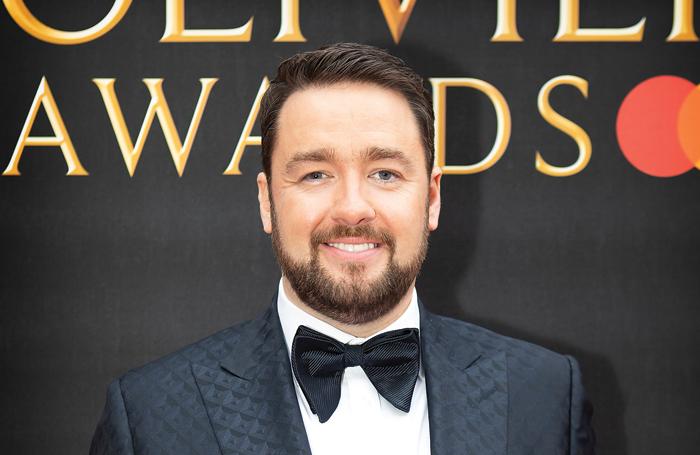 Jason Manford at the 2019 year's Olivier Awards. Photo: Pamela Raith