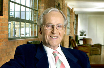Actor and presenter Nicholas Parsons dies aged 96