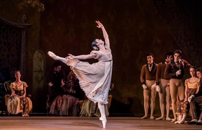 Natalia Osipova in Onegin at Royal Opera House, London. Photo: Tristram Kenton