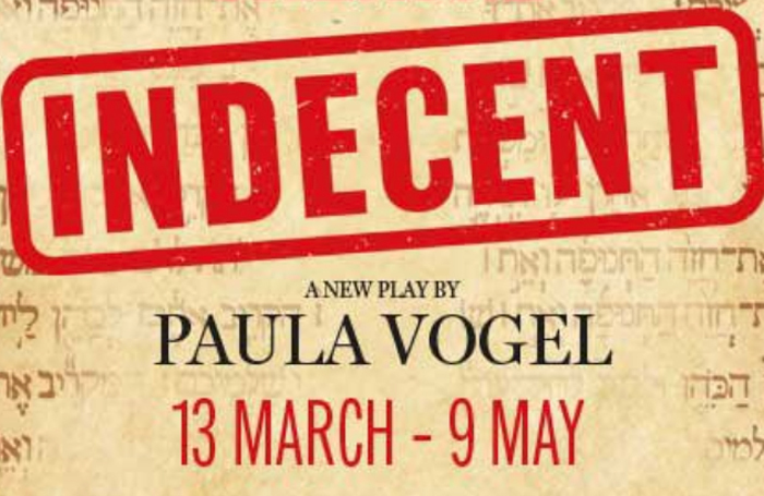 Indecent will open in March at the Menier Chocolate Factory