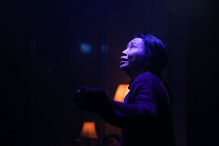 Tina Chiang in Fix at Pleasance Theatre, London. Photo: Nicole Latchana