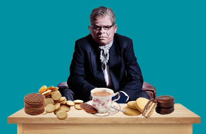 West End Producer samples a selection of biscuits. Photos: Shutterstock/Matt Crockett