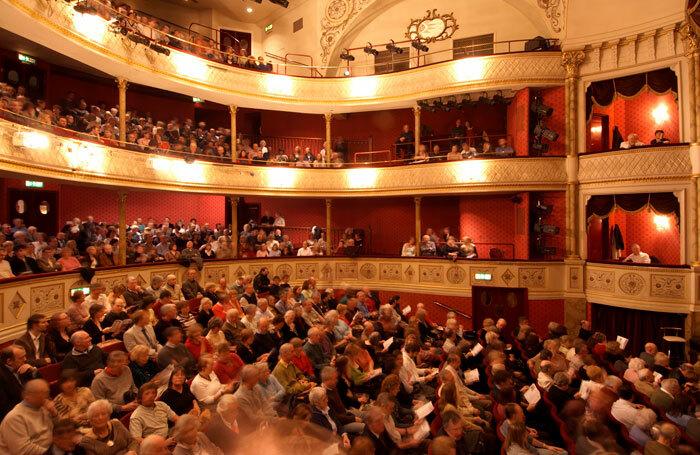 A packed auditorium. Photo: Robert Hollingworth