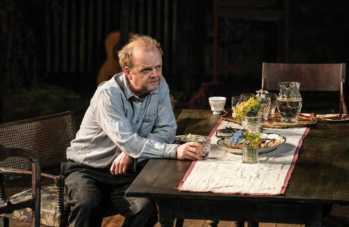 Toby Jones in Uncle Vanya at the Harold Pinter Theatre in London. Photo: Johan Persson