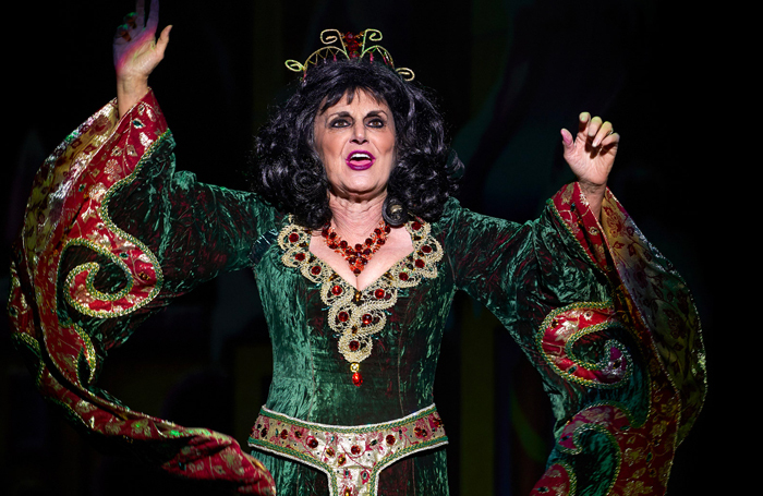 Lesley Joseph in Snow White and the Seven Dwarfs