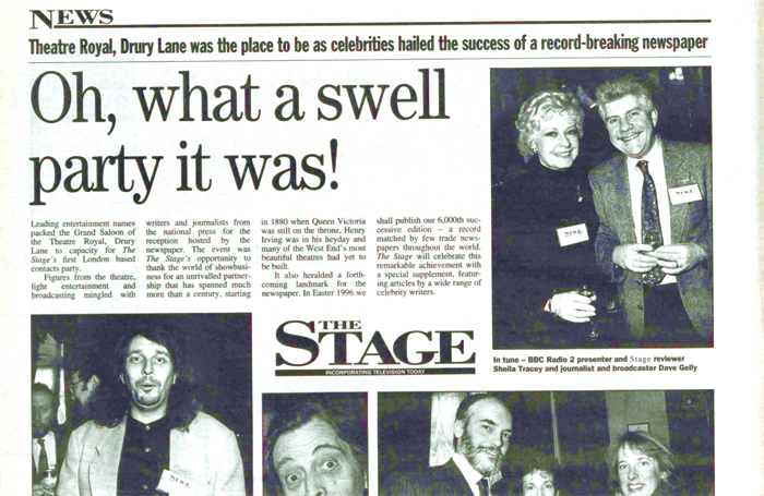 The Stage, February 15, 1996