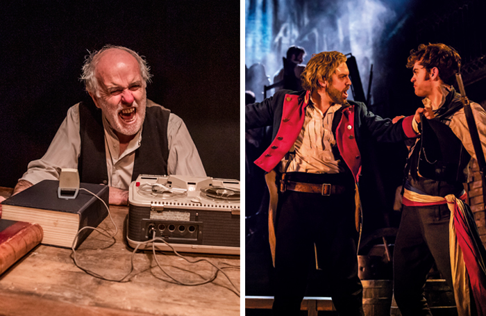 Are theatre shows events? The Beckett Triple Bill has been marketed as an 'event' and Les Misérables became one when it opened 35 years ago, says Richard Jordan. Photos: Tristram Kenton/Johan Persson