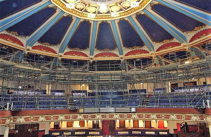 Interior of the Brighton Hippodrome