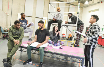 Esther Richardson: Theatre can reach out to neglected teens and give them a place to go
