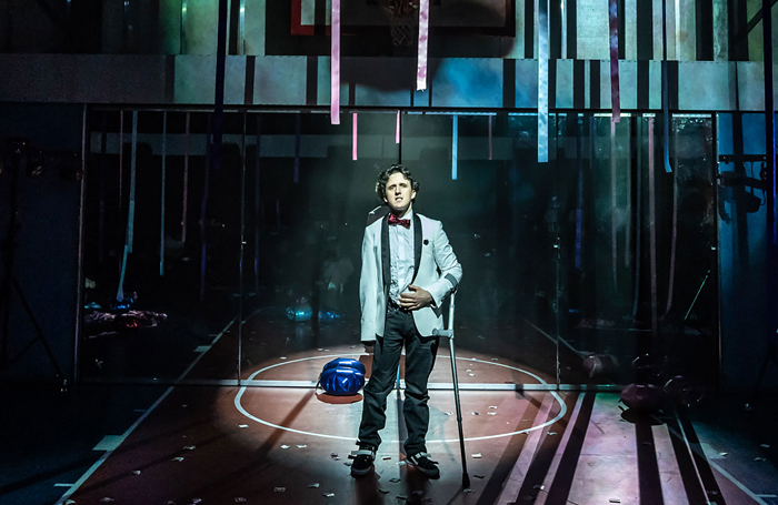 Daniel Monks in Teenage Dick at the Donmar Warehouse. Photo: Marc Brenner