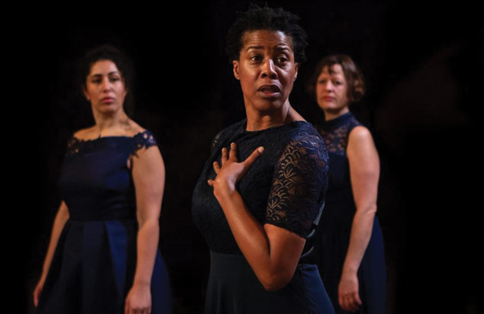 10 directed by Nastazja Somers at Vault Festival. Photo: Ali Wright