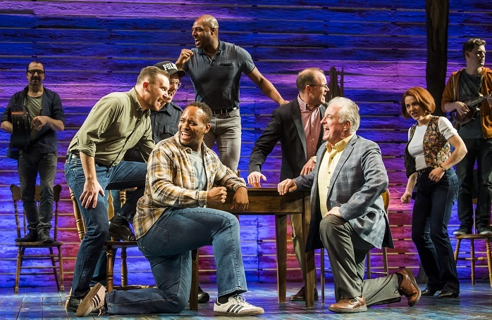 A scene from Come from Away at the Phoenix Theatre, London. Photo: Tristram Kenton