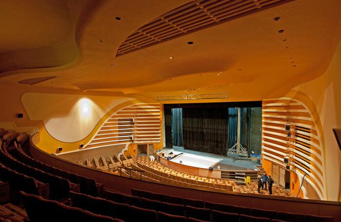 Peterborough New Theatre's auditorium