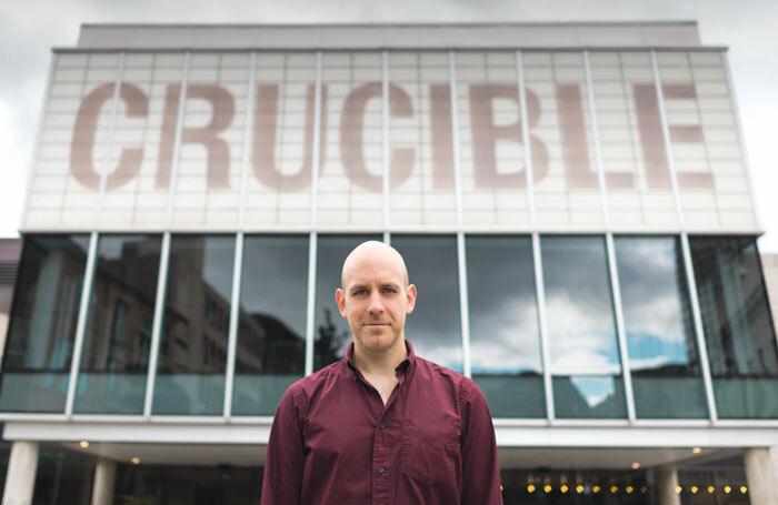 Robert Hastie, artistic director of Sheffield Theatres. Photo: James Stewart