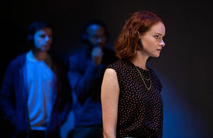 Rona Morison in The Haystack at Hampstead Theatre, London. Photo: Ellie Kurttz