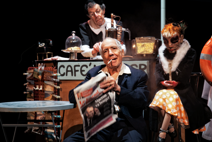 People Show 137: God Knows How Many at Southwark Playhouse. Photo: Sheila Burnett