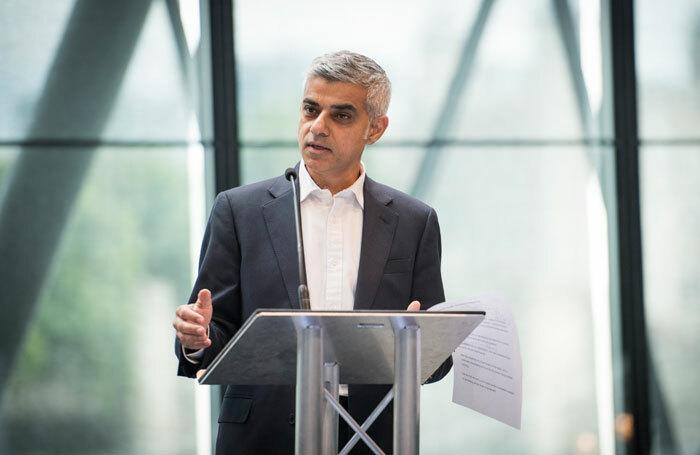 Sadiq Khan at the London Borough of Culture launch