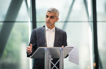 Sadiq Khan urges PM to help West End survive 'perfect storm' during Covid crisis