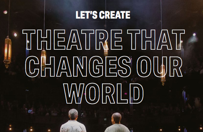 A page from the Arts Council England Let's Create strategy
