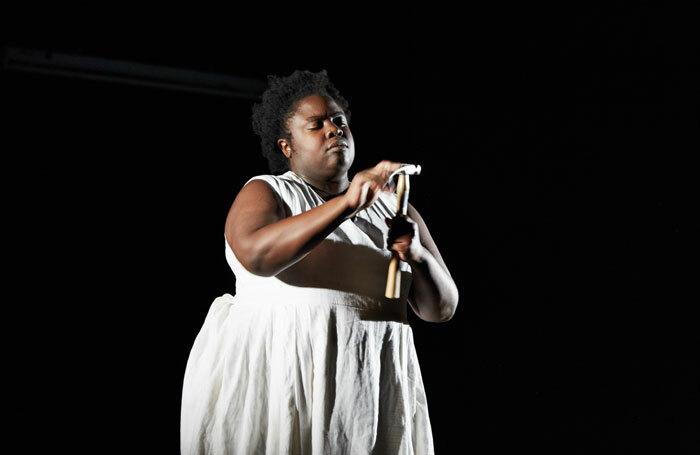Selina Thompson in Salt. Photo: Richard Davenport